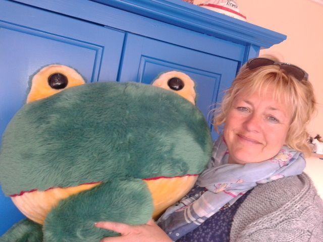 Ingrid Wijbenga uit Grou geeft mindfulness training voor kinderen.