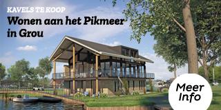 Wonen aan de Pikmar in hartje Grou!