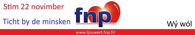 FNP Ljouwert: stim 22 novimber.