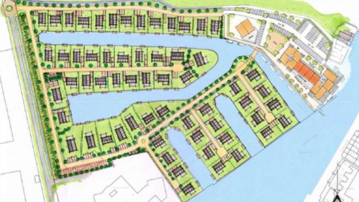 Recreatiewoningen en -appartementen op Halbertsma-terrein?