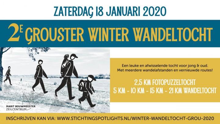 2e Grouster Winter Wandeltocht