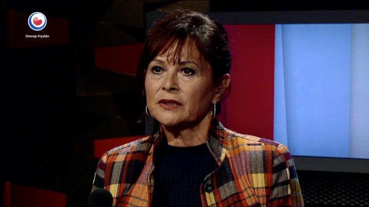 Irene van Breemen Schneider was maandag de gast in het Polytburo van Omrop Fryslân.