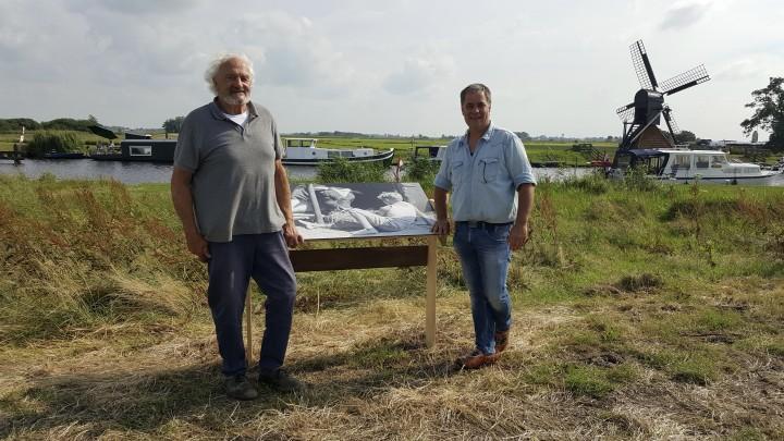 Opening door Hans Horreüs de Haas (links) en Gerbrand de Boer.