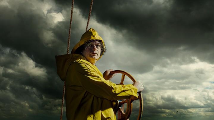 Onno Spreij, hier op de promofoto van het theaterstuk, speelt de hoofdrol van Pier.