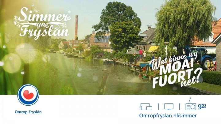 Omrop Fryslân zendt op 26 juli vanuit Grou uit