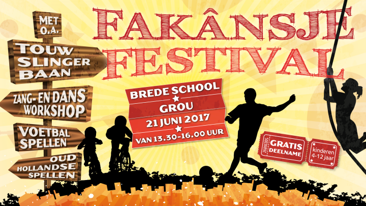 Woensdagmiddag: Fakânsje Festival