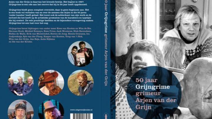 50 jaar grimeur Arjen van der Grijn