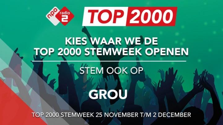 Opening Top 2000 Stemweek in Grou?