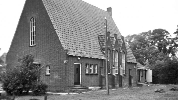 De Gereformeerde Kerk, op een foto gemaakt in 1969.