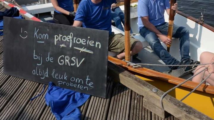 Grouster RoeiSloep Vereniging (GRSV) doet mee aan De Wike