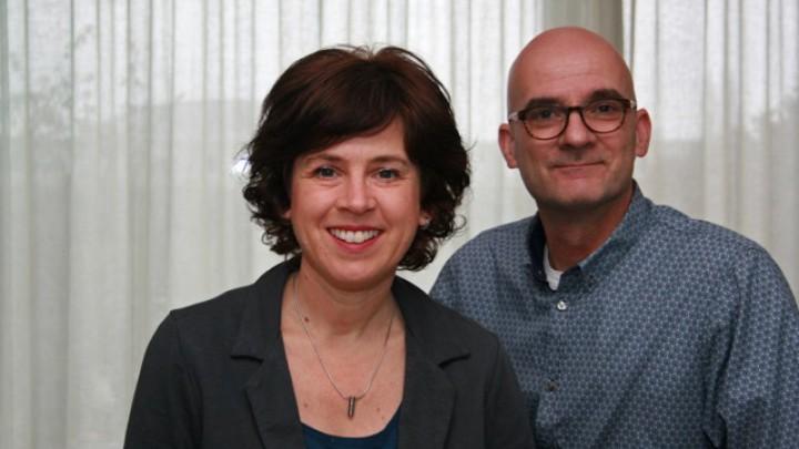 Willeke Philips is met haar man André franchisenemer van Saar aan Huis.