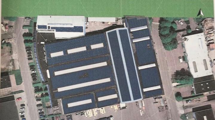 De daken van de bedrijfsgebouwen van De Mar komen straks vol te liggen met zonnepanelen.