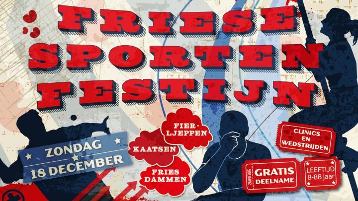 Friese sporten centraal op festijn