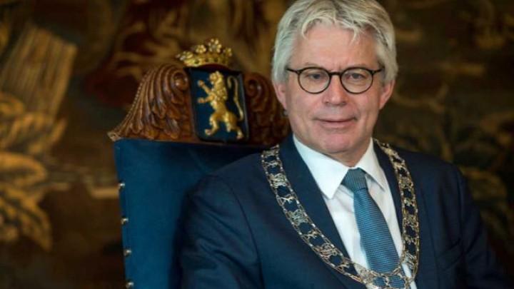 Burgemeester Ferd Crone stopt in juni.