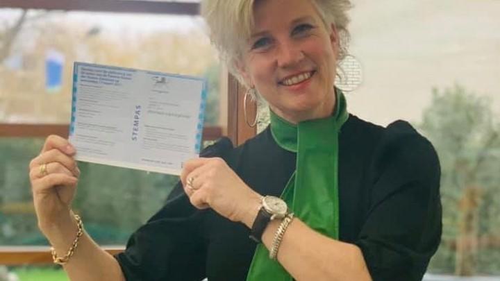 Fokelien van der Meulen bracht afgelopen woensdag het stemmen onder de aandacht bij haar volgers.
