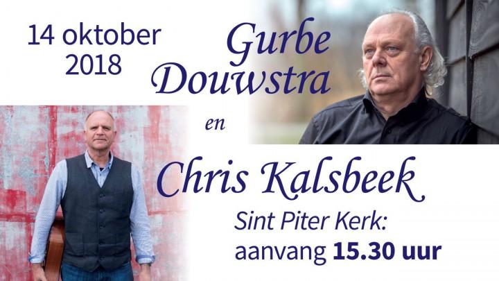 Optreden Gurbe Douwstra & Chris Kalsbeek
