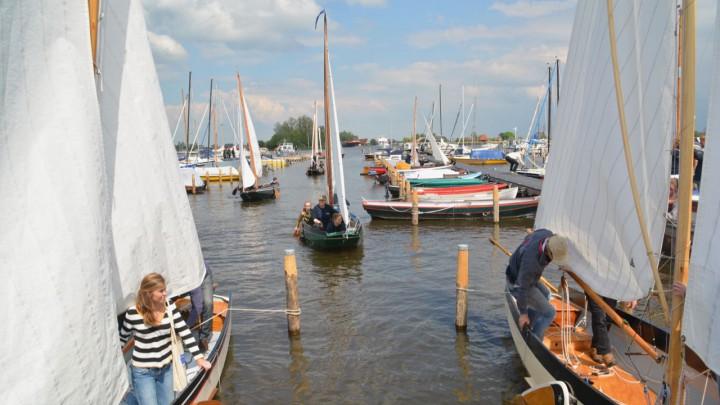 GWS-schouwen in de verenigingshaven aan de Meersweg.