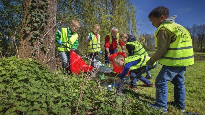Ook leerlingen van de basisscholen doen mee aan de Himmelwike. (Foto: Omrin)