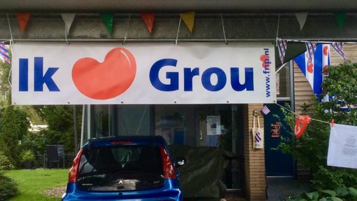 Raadslid heeft eigen thema: 'Ik hãld fan Grou'