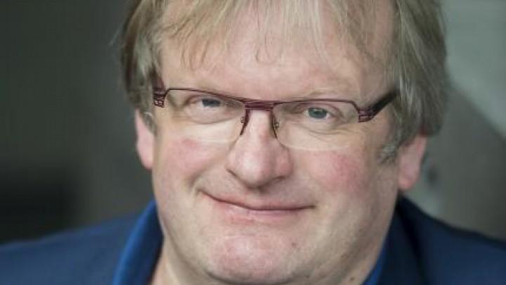 Wethouder Jan Atze Nicolai (PAL/GroenLinks) van de gemeente Leeuwarden.