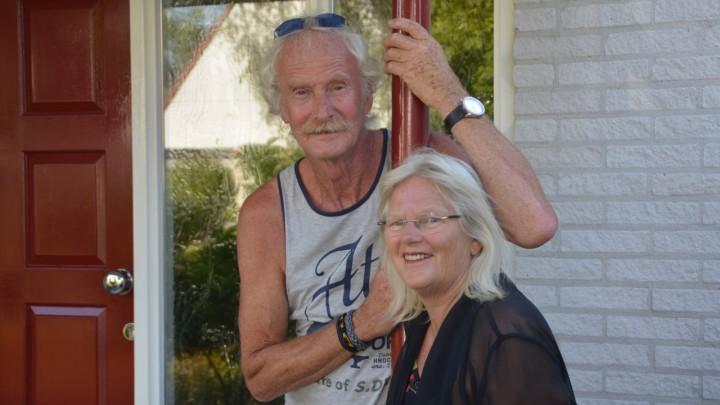 Jan Arendz en Marijke Geertsma fan J&M Teaterwurk.