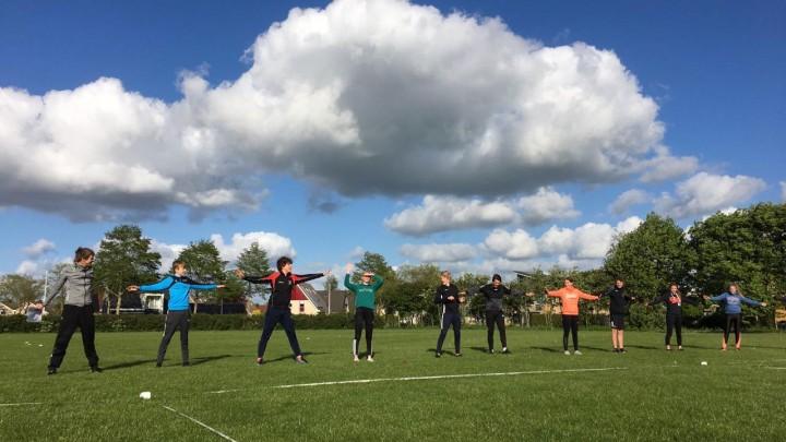 Eerste training jeugd KV Wetterlân