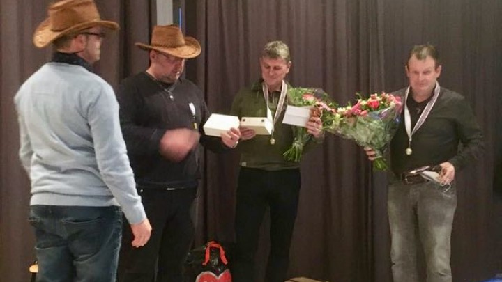 Na 20 jaar werd afscheid genomen van Erik Okkema en Walter Miedema.