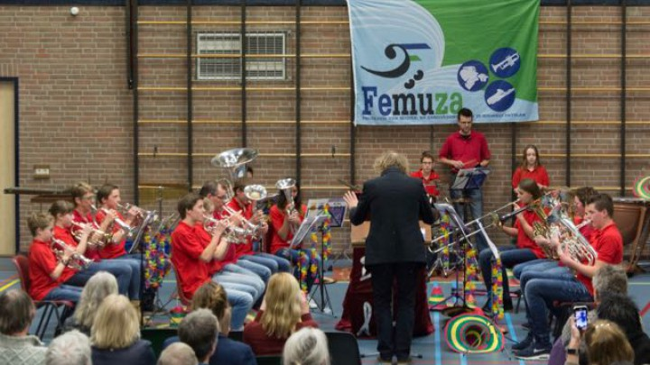 Vorig jaar deden de Koper Kids voor het eerst mee aan festival FeMuza en wonnen daar de eerste prijs.