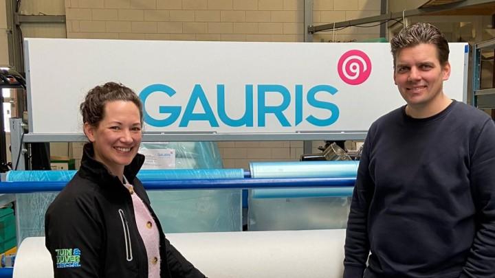 Annemieke Aal en Martijn Riewald van Gauris in Heerenveen.