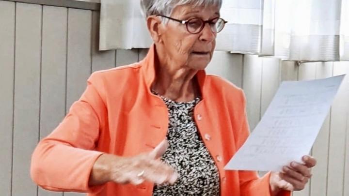 Mea Stelma-Falkena is nei mear as 30 jier opholden as koarlieder.