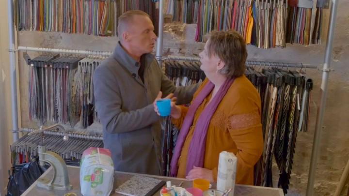 De video is voor het grootste deel opgenomen in Atelier Melkerson, aan de Raadhuisstraat in Grou.