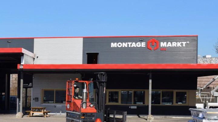 Zo komt het pand van Montagemarkt Grou er ongeveer uit te zien.