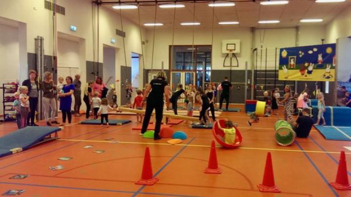 Gymnastiek: Onderlinge dorpenwedstrijd 2017
