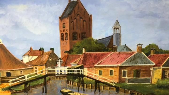 Expositie schildersgroep Lytse Buorren