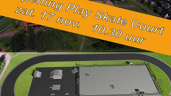 Rixt, Jorrit en Heather openen Play Skate Court