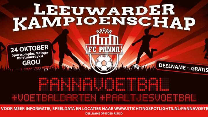 Kampioenschap Pannavoetbal in herfstvakantie