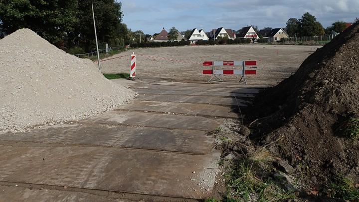 Tjepkema kan binnenkort beginnen met asfalteren. (Foto: Jikkie Piersma)