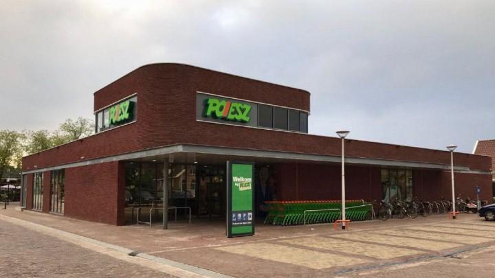 De Poiesz-supermarkt aan de Parkstraat.