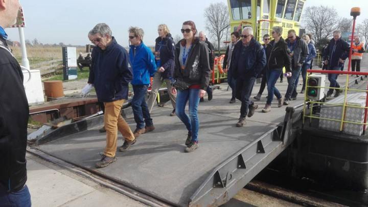 Dit jaar komen de wandelaars niet op De Burd. (Foto: Jan Brinksma)