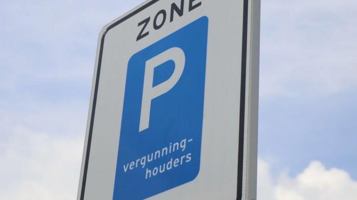 Straatgebonden parkeervergunning in wijk Oosterveld