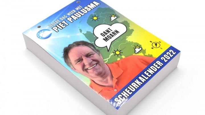 De Piet Paulusma scheurkalender. De winnaars ontvangen deze via bol.com.