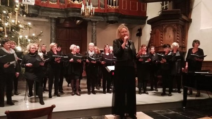 Kerst-Sing-In brengt € 1500,- op