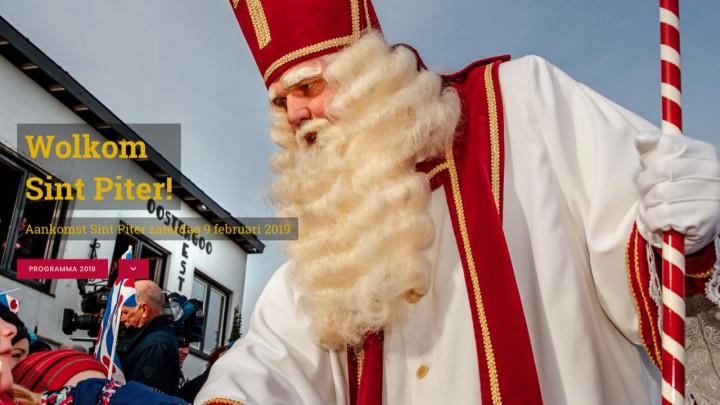 Nieuwe website voor Sint Piterfeest