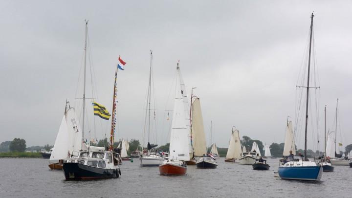Watersporters namen op 2 juni jl. het Suderburds Wiid in gebruik. (Foto: Jikkie Piersma)