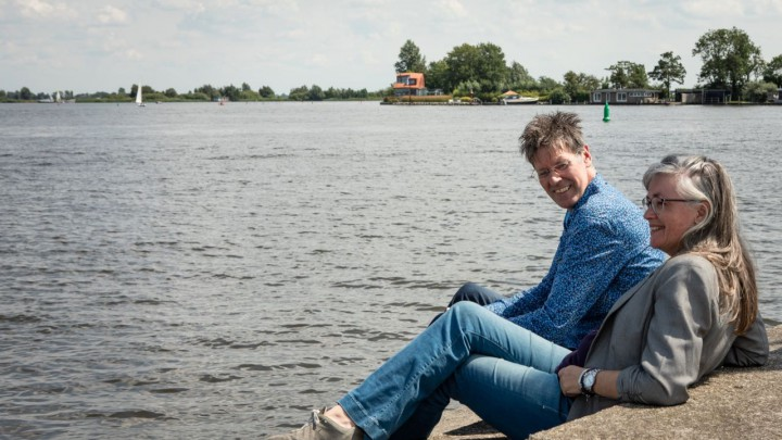 Eddy van der Noord en Henriët van der Horst van Vanvander.