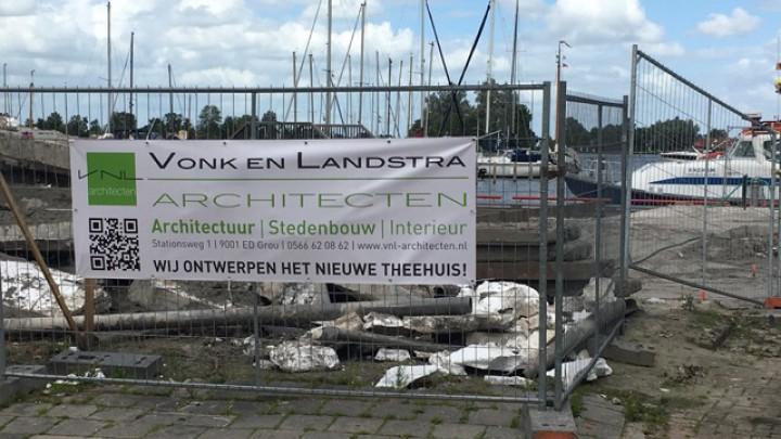 Grouster architecten ontwerpen Theehuis