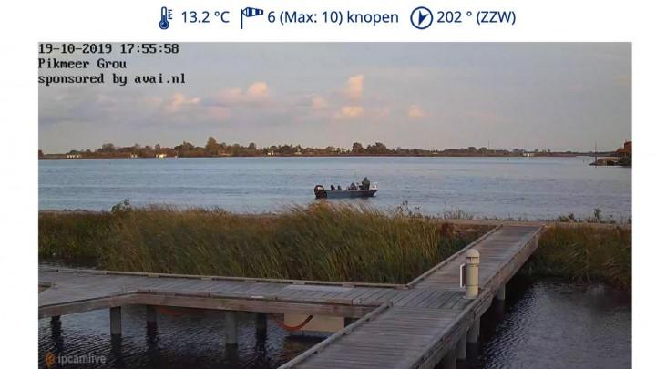 Webcam biedt prachtig zicht op de Pikmar