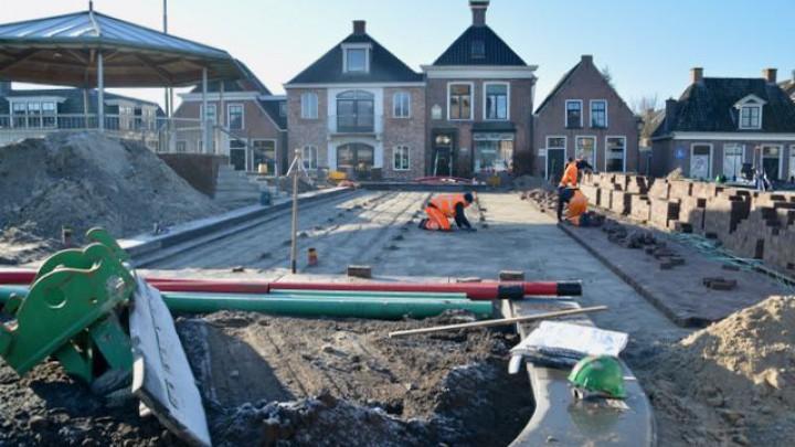 Straatwerkzaamheden Halbertsma's Plein begonnen