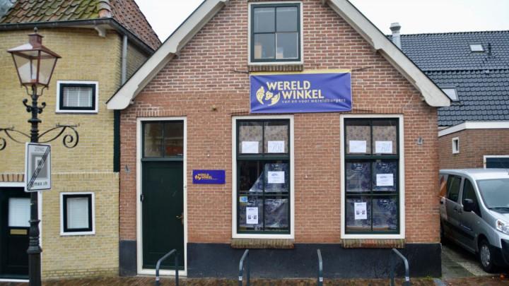 In het pand Doorbraak 4 zat eerder lange tijd Wereldwinkel Grou. (Archieffoto)